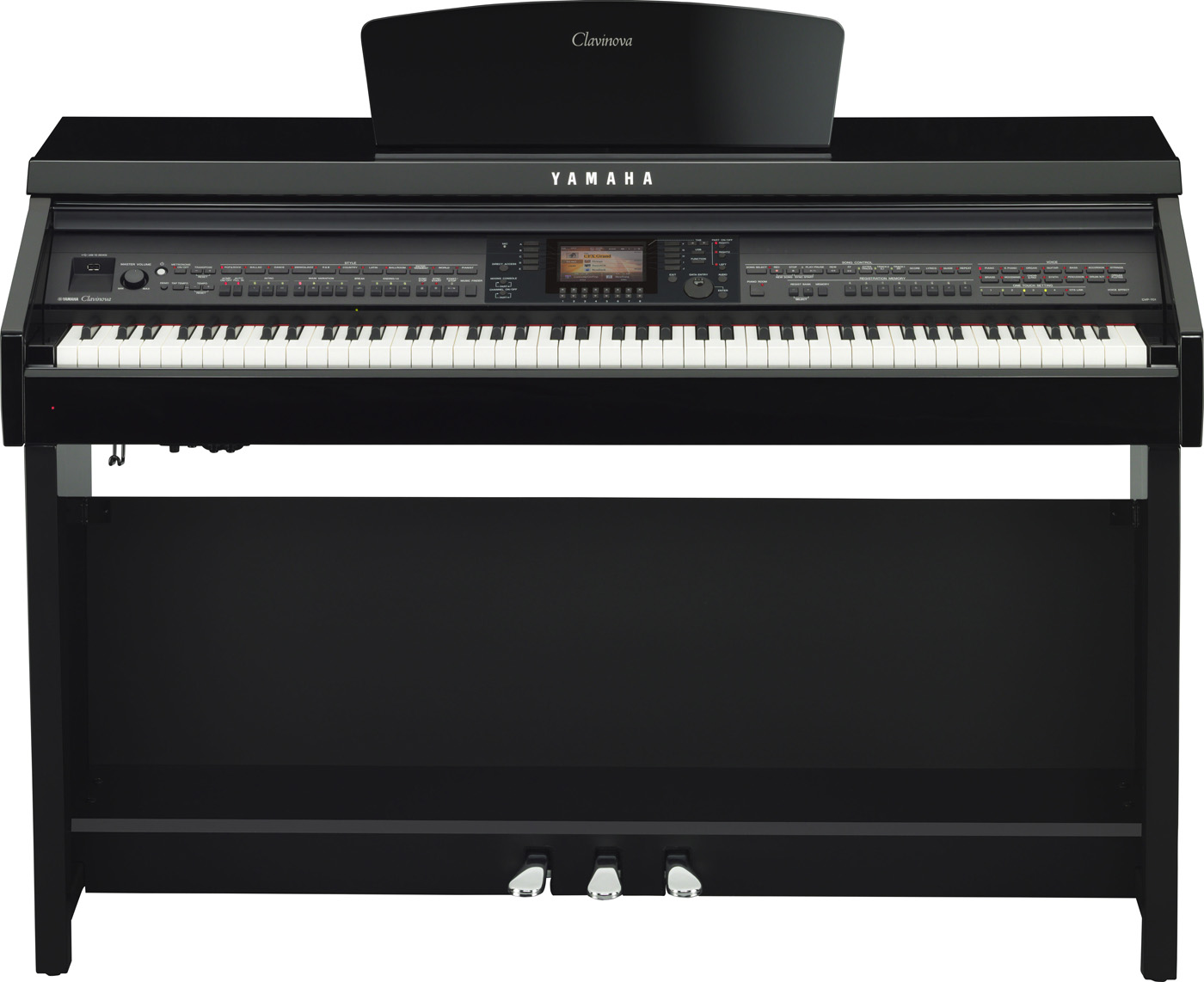 Yamaha Clavinova CVP 701 schwarz poliert
