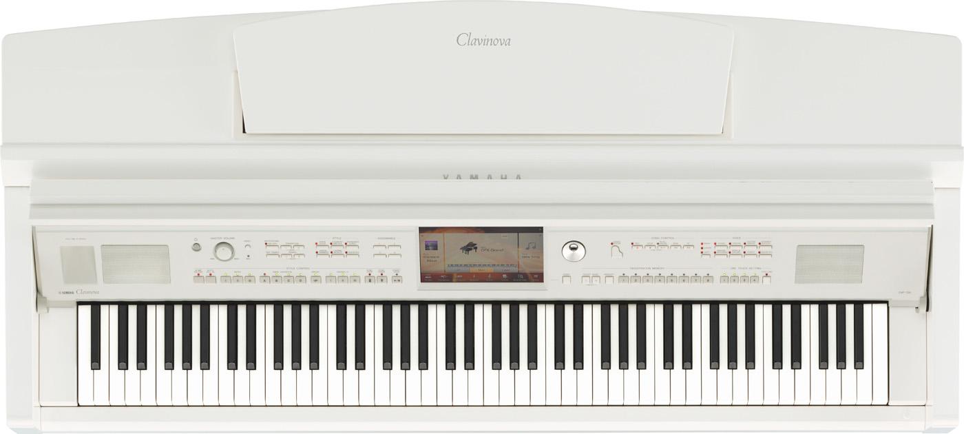 Yamaha Clavinova CVP 709 weiss poliert