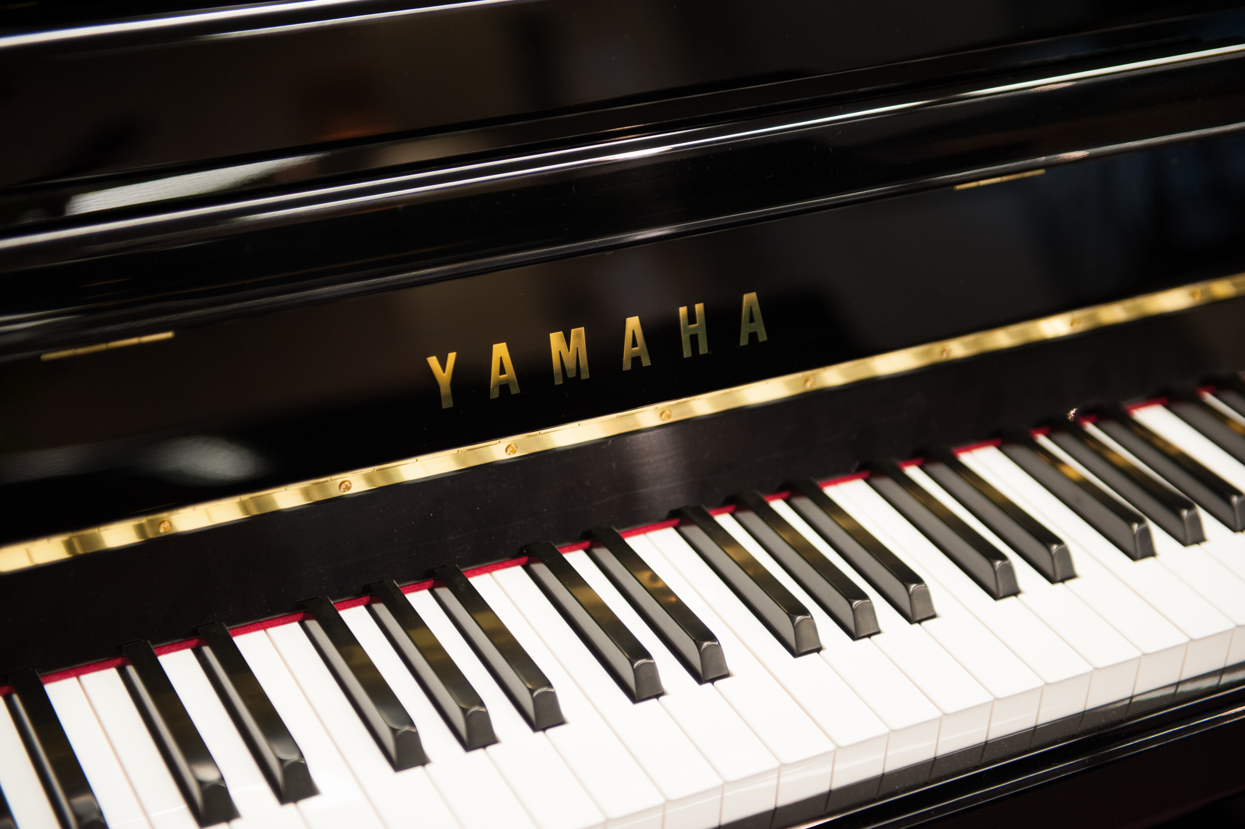 Yamaha keys