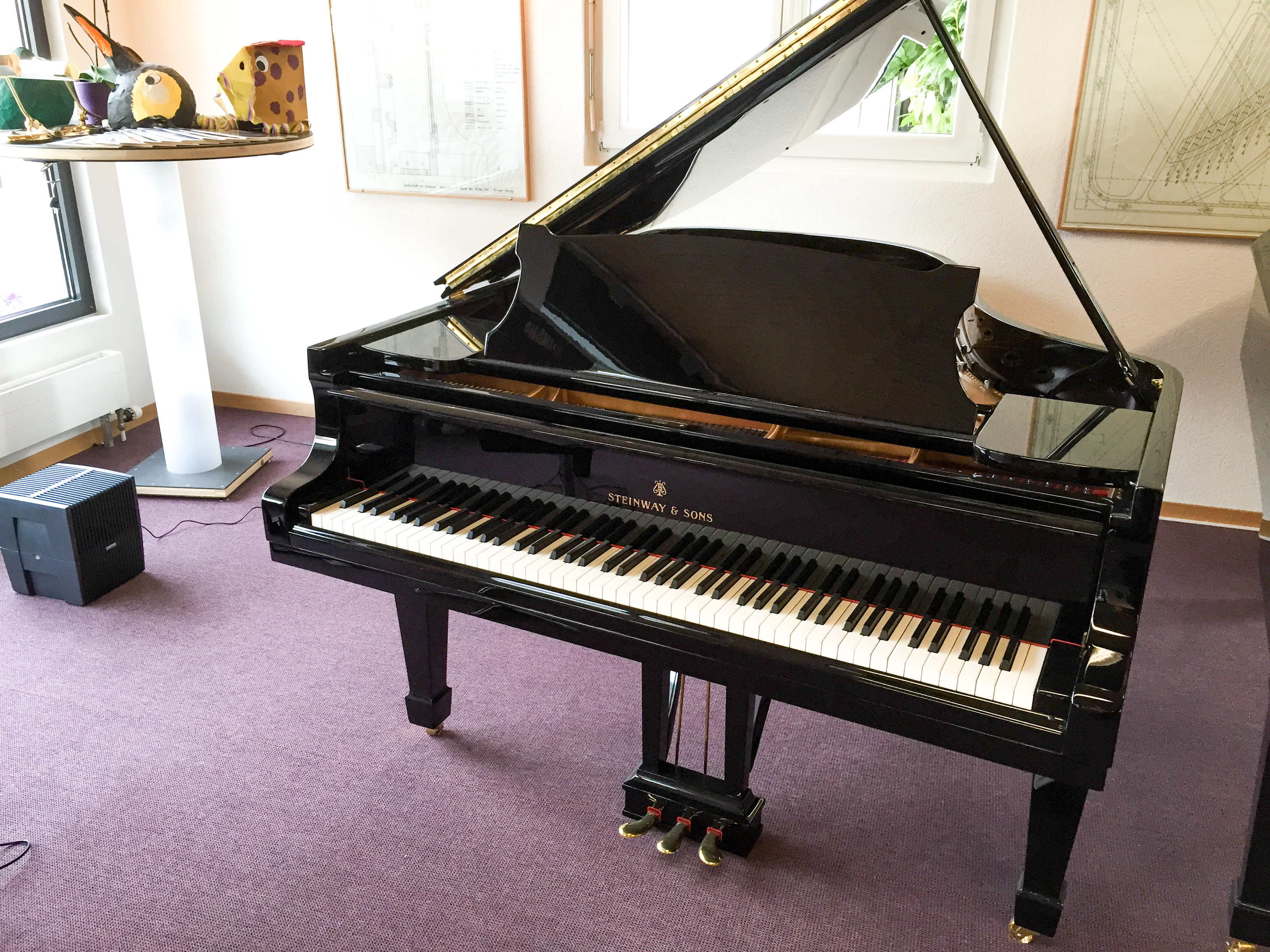 Steinway & Sons A188